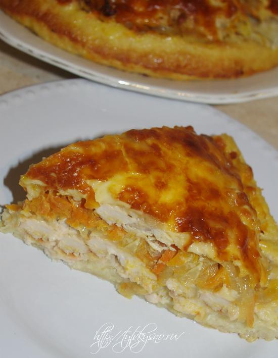 курица на хлебе рецепт-сытное вкусное блюдо