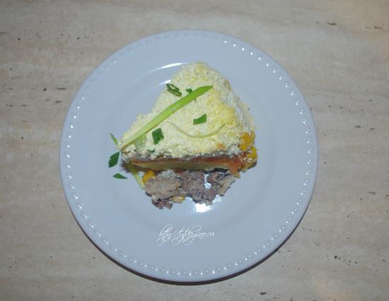 """вкусный классический рецепт салата на обед или ужин """"Мимоза"""""""