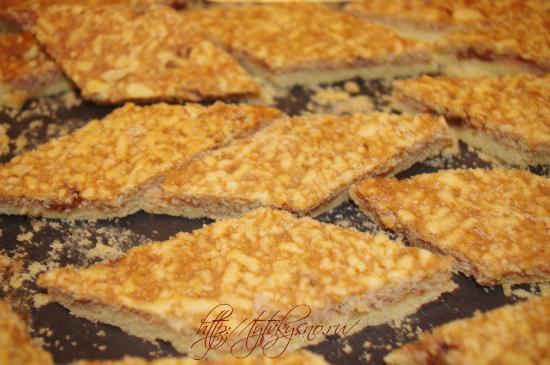 простой рецепт тертого пирога