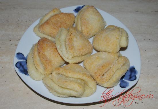 печенье из творога рецепт без яиц