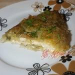 Картофельный пирог с сыром и грибами. Рецепт для сковороды или духовки
