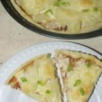 Пицца. Рецепт пиццы с курицей и ананасами