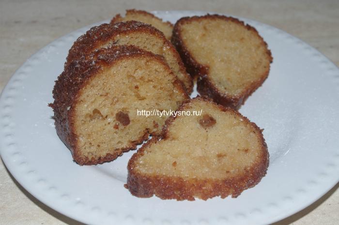Творожный кекс от ТутВкусно