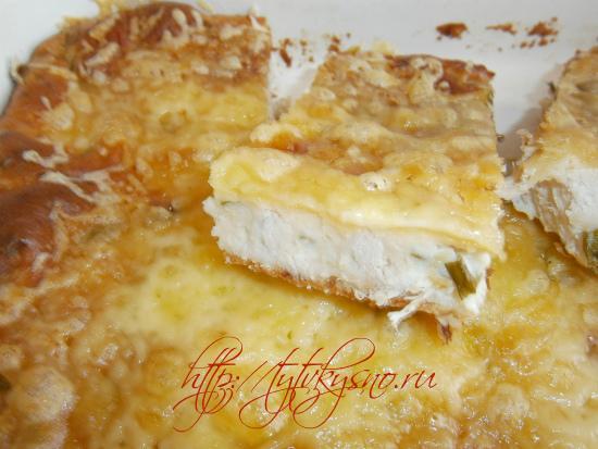 простой рецепт приготовления наливного пирога с курицей